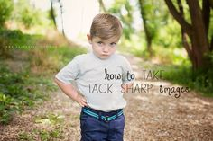 Learn how to take take tack sharp images every time!
