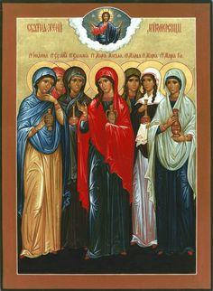 The Holy Myrrhbearing Women