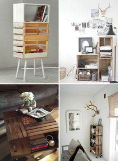 Wooden Crates Ideas | wooden crate ideas