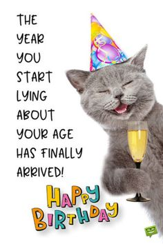 Funny Happy Birthday Images - Happy Birthday Funny - Funny Birthday meme - - The year you start lying about your age has finally arrived. The post Funny Happy Birthday Images appeared first on Gag Dad.