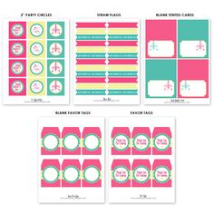FREE Mother's Day Printables from Sarah Hope Designs | Catch My Party