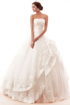 Why pay thousands? This gorgeous wedding dress is made to order for each bride. Only $295.55. Buy now.