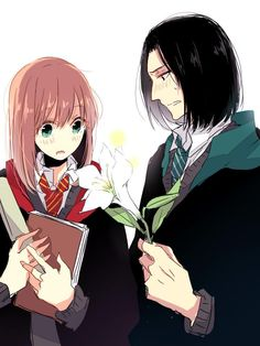Young Lily Evans and Severus Snape from Harry Potter - love this ship!