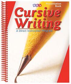 Cursive Writing Grades 2–4 Improves cursive skills and writing fluency