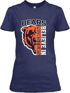 Chicago Bears - Believe In Monsters