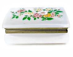 Vintage Celluloid Trinket Box Jewelry Hong by EclecticVintager, $12.00