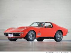 gallery most valuable corvette 1969 L88
