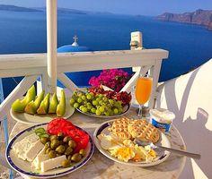 """Breakfast made by me Oia - Santorini - Greece """