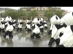 108匹パンダ、ロンドンで太極拳