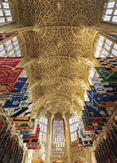 Henry VII Chapel at Westminster Abbey in London, England.Most Beautiful Church Ceilings Photos | Architectural Digest
