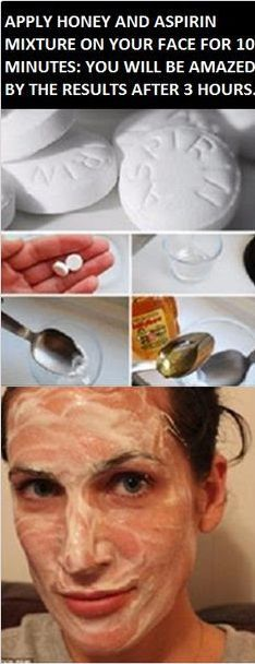 Beauty Remedies Mix Honey And Aspirin And Keep On The Face For 10 Minutes: After 3 Hours Look At Yourself In The Mirror – Miracle Health Tips For Women, Health And Beauty, Diy Eye Cream, Beauty Care, Beauty Hacks, Diy Beauty, Beauty 101, Piel Natural, Natural Face