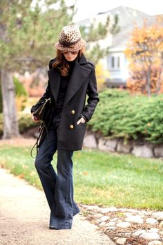 Outfit Of The Yesterday: Black & Gold (& J. Brand Flares)   t h e (c h l o e) c o n s p i r a c y : fashion + life + style