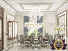 """Dinning Room Interior Design - If you are looking for a unique style of your home, office or public space - you are welcome to the design studio Luxury Antonovich Design! We will turn your image into reality! You can give us a call:  971 55 999 4994   971 54 757 9888   971 4 551 3144 Send us messages!  More images from portfolio """"Dining Room Interior Design"""": https://antonovich-design.ae/our-works/dinning-room-design.html #DiningRoomInteriorDesign, #DinningRoomInteriorDesign…"""