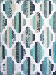 Modern Quilt Pattern, Garden Lattice, 2 sizes   Craftsy