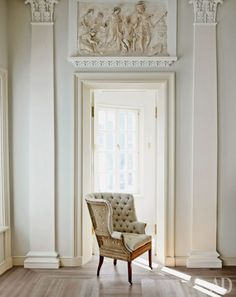 home decor home decoration Interior Exterior, Interior Design, Wall Molding, Moldings, Ivy House, French Decor, Elegant Homes, Architectural Digest, Cottage