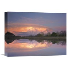 Global Gallery Storm Clouds over South Llano River South Llano River State Park Texas Wall Art - GCS-396843-1216-142