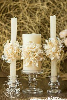 Wedding Unity Candle, Personalized Wedding Candle, Rustic Unity Candle Set, Unity Ceremony, Pillar C Burlap Candles, Rustic Candles, Vintage Candles, Pillar Candles, Floating Candles, Hanging Candles, Wedding Unity Candles, Candle Holders Wedding, Wedding Ceremony Ideas