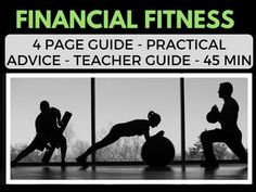 Financial Fitness - Practical Money Advice for High School - Economics Economics Lessons, Teaching American History, Student Guide, Social Studies Resources, History Teachers, Lesson Plans, Connect, High School, Advice
