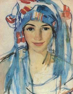 It's About Time: Off to Russia - Middle East & African images by Zinaida Yevgenyevna Serebriakova 1884-1967