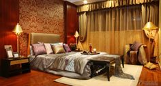 Encyclopedia of Southeast Asian style bedroom decorating pictures | Bedroom