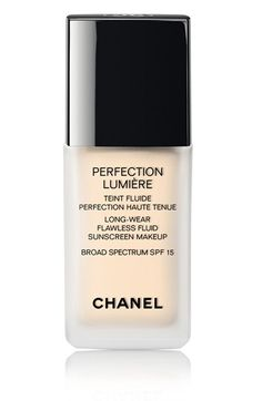 CHANEL PERFECTION LUMIÈRE Long-Wear Flawless Fluid Sunscreen Makeup Broad Spectrum SPF 15 | Nordstrom