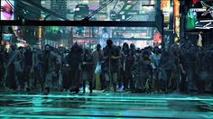 Beginning of Avatar looks like Cyberpunk universe. Cyberpunk City, Cyberpunk 2077, Futuristic City, Science Fiction, Space Opera, Sci Fi City, Avatar Movie, Fantasy Landscape, Landscape Art