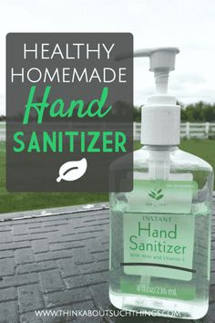 Kill germs with this easy home made hand sanitizer. This DIY uses essential oils like tea tree making it a healthy alternative to chemical hand sanitizers.The great thing about this natural hand sanitizer is that you can even make small ones as gifts Home Made Hand Sanitizer, Natural Hand Sanitizer, Alcohol Free Hand Sanitizer, Natural Disinfectant, Disinfectant Spray, Cough Remedies For Adults, Plant Therapy, Pin On, Belleza Natural