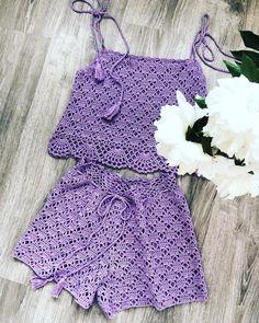 Ideas For Crochet Bikini Pattern Kids Bikinis Crochet, Crochet Bikini Pattern, Crochet Bikini Top, Crochet Top, Crochet Patterns, Crochet Pants, Crochet Skirts, Crochet Baby Clothes, Crochet Blouse