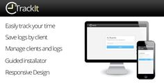 TrackIt - Track your time http://codecanyon.net/item/trackit-track-your-time/8405606?ref=damiamio TrackIt is a useful backend tool that will allow you to keep traking of your work time with your clients. With TrackIt you'll have a very ordered way to save your worked hours by client, manage them and reanudate them from the last point. TrackIt has the following features: Simple and easy to use Password-only login Clients management section Its design avoids confusions between clients Be able…