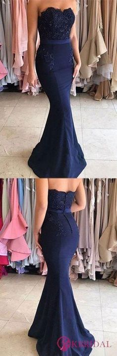 Sweetheart Beading Bodice Long Mermaid Prom Dresses Evening Dresses, Shop plus-sized prom dresses for curvy figures and plus-size party dresses. Ball gowns for prom in plus sizes and short plus-sized prom dresses for Strapless Prom Dresses, Prom Dresses For Teens, Prom Dresses 2018, Ball Dresses, Ball Gowns, Evening Dresses, Bridesmaid Dresses, Prom Gowns, Dress Prom