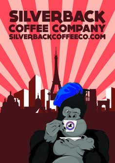 From Paris with Love Paris Love, Coffee Company, Advertising Poster, My Coffee, Giclee Print, Poster Designs, Paris France, Parisian, Artwork