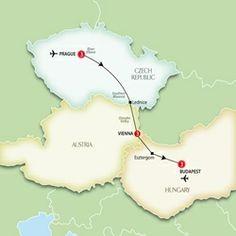 Masallar Diyarı Muhteşem üç şehir,Budapeşte - Viyana - Prag: Orta  Avrupa  Turu & Orta Avrupa Tur Rehberiniz