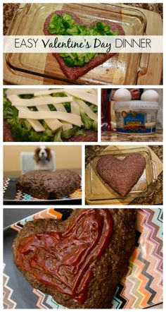 Easy Valentine's Day Dinner broccoli and cheese stuffed meatloaf made by April Golightly #aprilgolightly