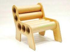 Resultado de imagen para diseño de sillas en carton