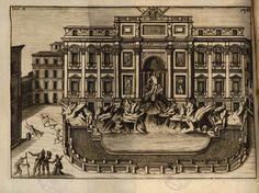 Fontana di Trevi #roma #fontana #fontanaditrevi #acquedotto #acquavergine #illustrazione Plan Drawing, Antiques, Drawings, Arch, Painting, Dibujo, Rome, Antiquities, Sketches