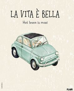 La vita è bella, het leven is mooi | Flair 42 (2015) | #FlairNL #FlairQuote Flairathome.nl