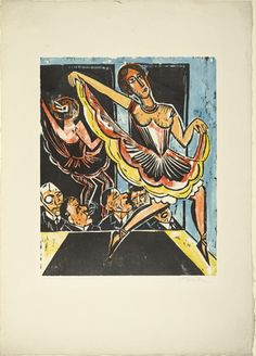 IMAGE PERMISSIONS  Zoom    Max Pechstein (German, 1881–1955) Dancer in the Mirror