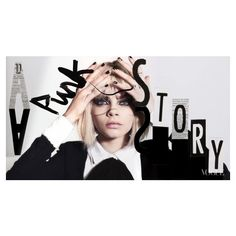 Vogue Punk Fashion Stories: Cara Delevingne - nitrolicious.com ❤ liked on Polyvore featuring models