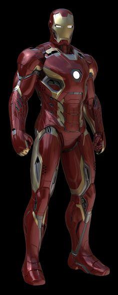 Avengers Concept Art | IRON MAN Mark XLV