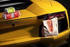 Lamborghini Aventador - McDonald's