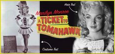 """63 Years Ago Today (August 15, 1949): Marilyn started shooting one of her first movies """"A Ticket to Tomahawk"""""""