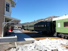 Train museum, Ely, Nevada.