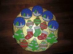 Yummy Christmas sugar cookies
