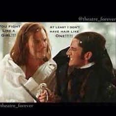 OOOOOOOHH SNAP! I totally think the Phantom shoulda won this fight... but then again if he had he woulda killed Raoul