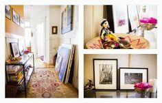 Mucho arte en una casa eclectica