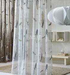 Natural Charme -  Vorhang IKARUS (transparent) und IRIS von Apelt