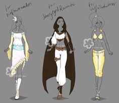 Custom Outfits #6 by Nahemii-san on DeviantArt