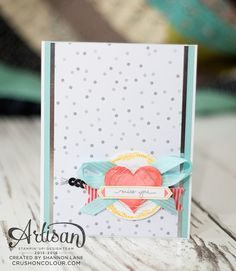 Crush On Colour: Miss you, my love! You And I, I Love You, My Love, Miss You, Love Heart, Stampin Up, Crushes, Card Making, Colour