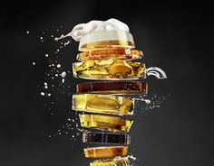 "Check out this @Behance project: ""Beer cuts"" https://www.behance.net/gallery/16557589/Beer-cuts"