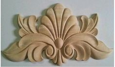 Woodworking For Beginners Wood Carving Designs, Wood Carving Patterns, Wood Crafts, Diy And Crafts, Arts And Crafts, Wal Art, Wood Appliques, Plaster Art, 3d Cnc